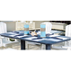 CRP Products Table à diner 72'' - double couleur