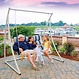 Hatteras Hammocks Support hamac chaise double taupe