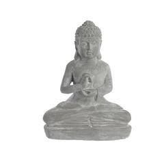 """Kaemingk Bouddha en terre cuite - 12"""""""