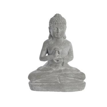 """Bouddha en terre cuite - 12"""""""