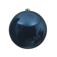 """Signé Garneau Boule plastique uni brillant bleu 5,5"""" (unité)"""