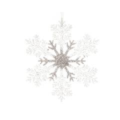 Signé Garneau Flocon de  neige à suspendre 12,6 po
