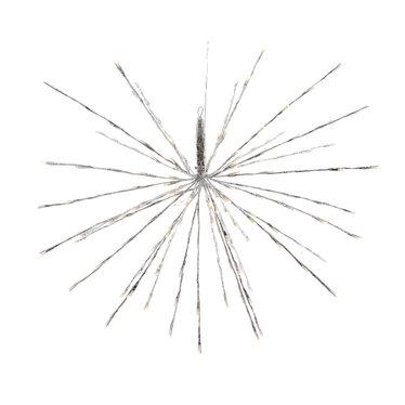 """Signé Garneau Étoile lumineuse blanc chaud 17"""""""
