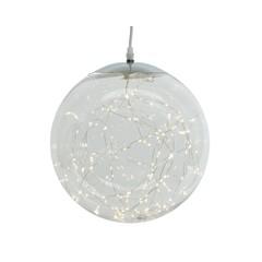 Signé Garneau Boule lumière plastique blanc chaud 140L 11.8''