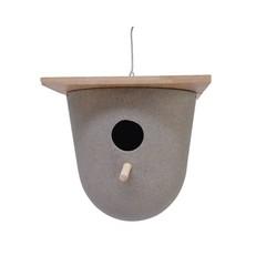 """Kaemingk Nichoir paille recyclée et bambou 8,5"""""""