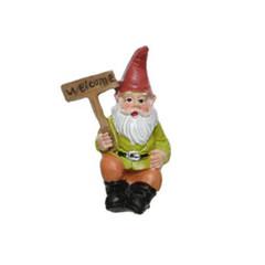 Gnome jardinier affiche 3.5''