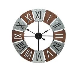 Horloge métal 27''