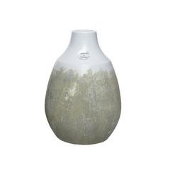 "Vase terracotta texture blanc 11"""