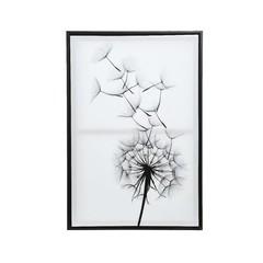 """Canvas fleur satiné 17x24"""""""