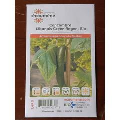 Semences concombre libanais green finger bio