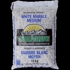 Marbre blanc moyen 18kg