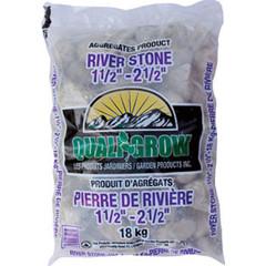 "Pierre de riviere 1 1/2 -2 1/2"" 18kg"