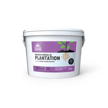 Engrais Passion Jardin 12-24-6 de plantation 1.8kg