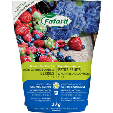 Engrais naturel 4-1-4 petits fruits 6 kg