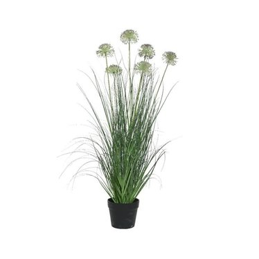 Allium artificiel en pot 35""