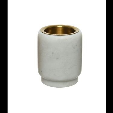 voltive en marbre blanc 2.75''