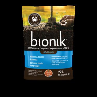 Bionik compost marin et forestier 22l
