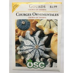 Graines de Courges Ornementales (Crown of Thorns)