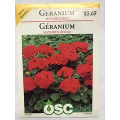 Graines de Géranium (Maverick rouge)
