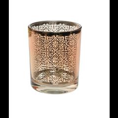 Kaemingk Voltive en verre motif rose 3''