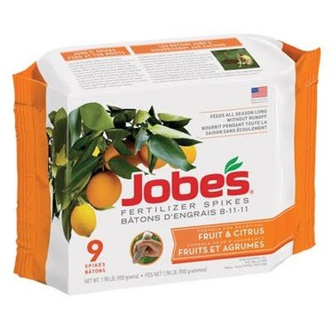 Jobe's engrais en bâton fruits 8-11-11