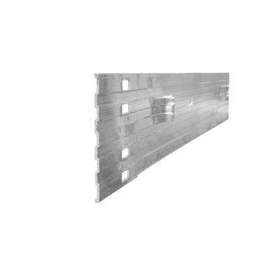 Bordure en aluminium 8pi