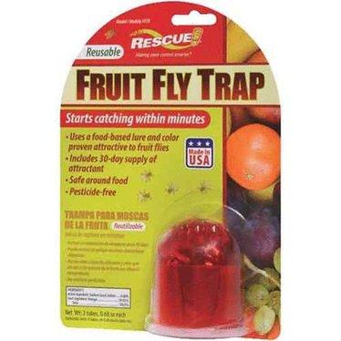 Rescue attrape mouche a fruit réutilisable