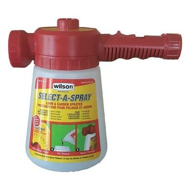 Wilson pulvérisateur select-a-spray
