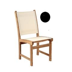 Kingsley Bate St-Tropez - Chaise sans bras noir