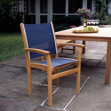 Kingsley Bate St-Tropez - Chaise à bras noir