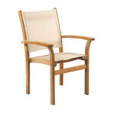 Kingsley Bate St-Tropez - Chaise à bras crème