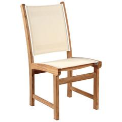 Kingsley Bate St-Tropez - Chaise sans bras crème