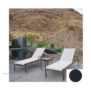 Kingsley Bate Tivoli - Chaise longue noir
