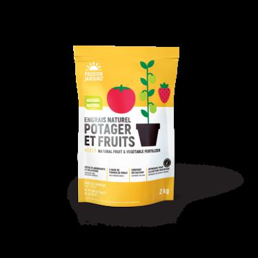 Engrais Passion Jardin naturel pEngrais naturel potager & fruits Passion jardins 4-2-7 (2kg)otager & fruits 4-2-7 2kg