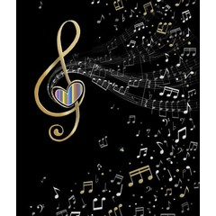 Carte - Note de musique
