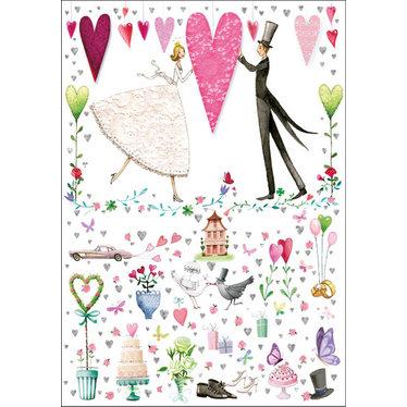 Carte - Couple mariés