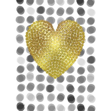 Carte - Cœur or