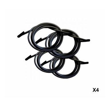 Lafuma Kit lacets élastiques noir Lafuma
