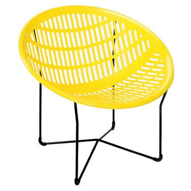 Chaise Solair jaune