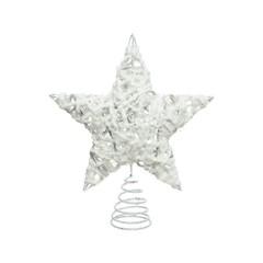 Signé Garneau Cime de sapin étoile blanc