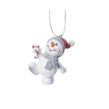 Ornement bonhomme de neige/bonbon