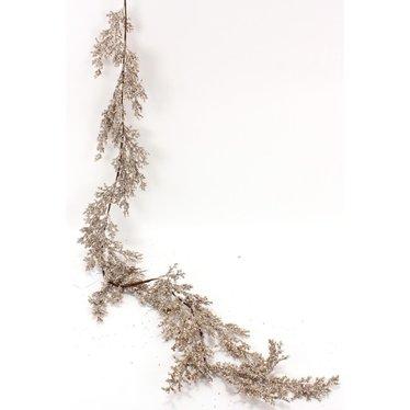 Guirlande branches platine