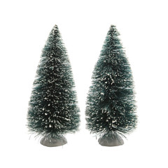 Sapin artificiel pour village (paquet de 2)