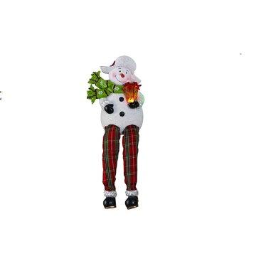 Bonhomme de neige LED avec cadeau