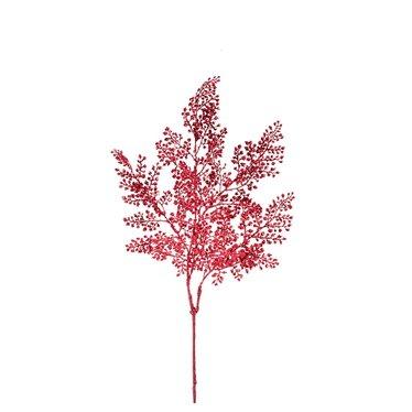 Tige plastique brillante rouge