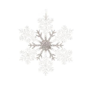 Flocon de neige suspendu