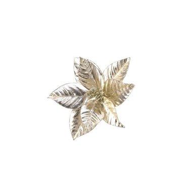 Poinsettia or sur clip