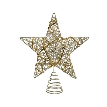 Signé Garneau Cime de sapin étoile or