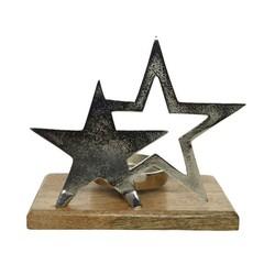 Signé Garneau Chandelier en aluminium étoile