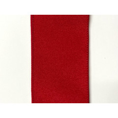 Ruban rouge mat